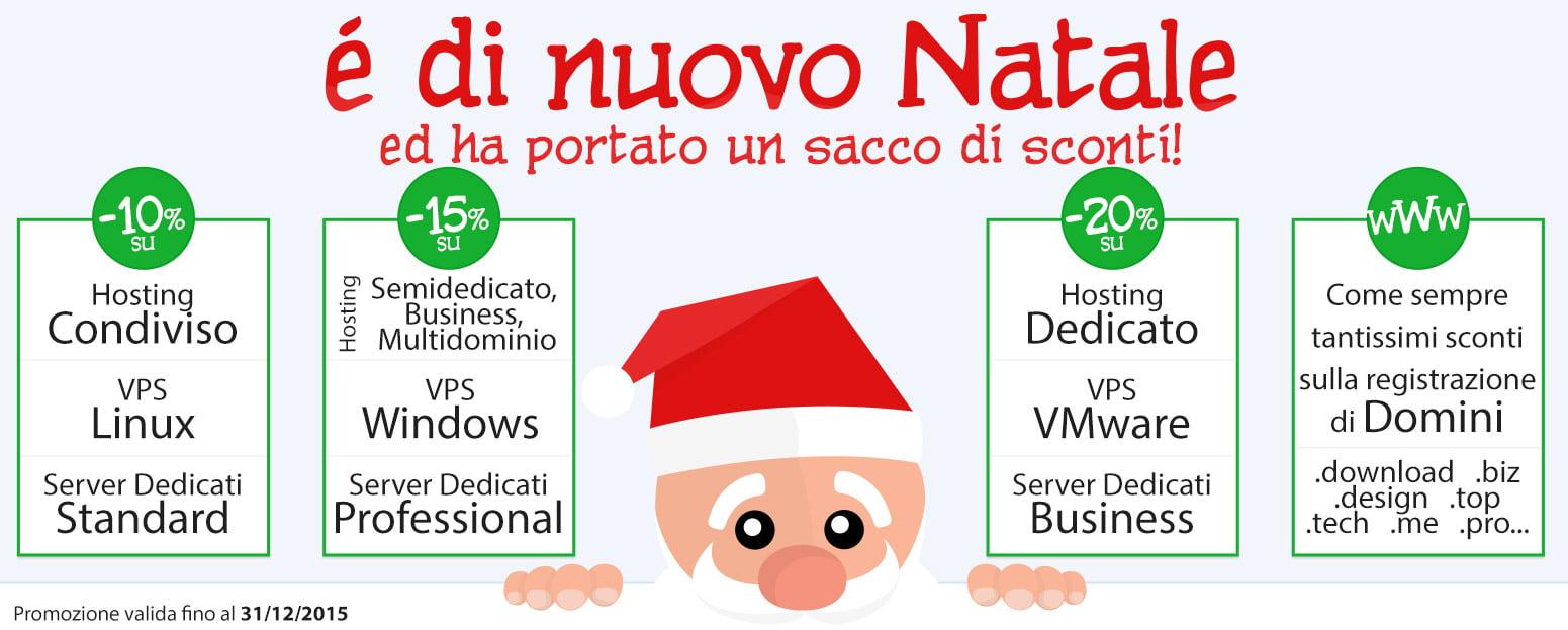 Promozioni di Natale Netsons