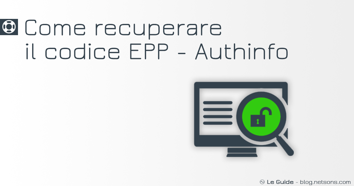 come-recuperare-epp-authinfo