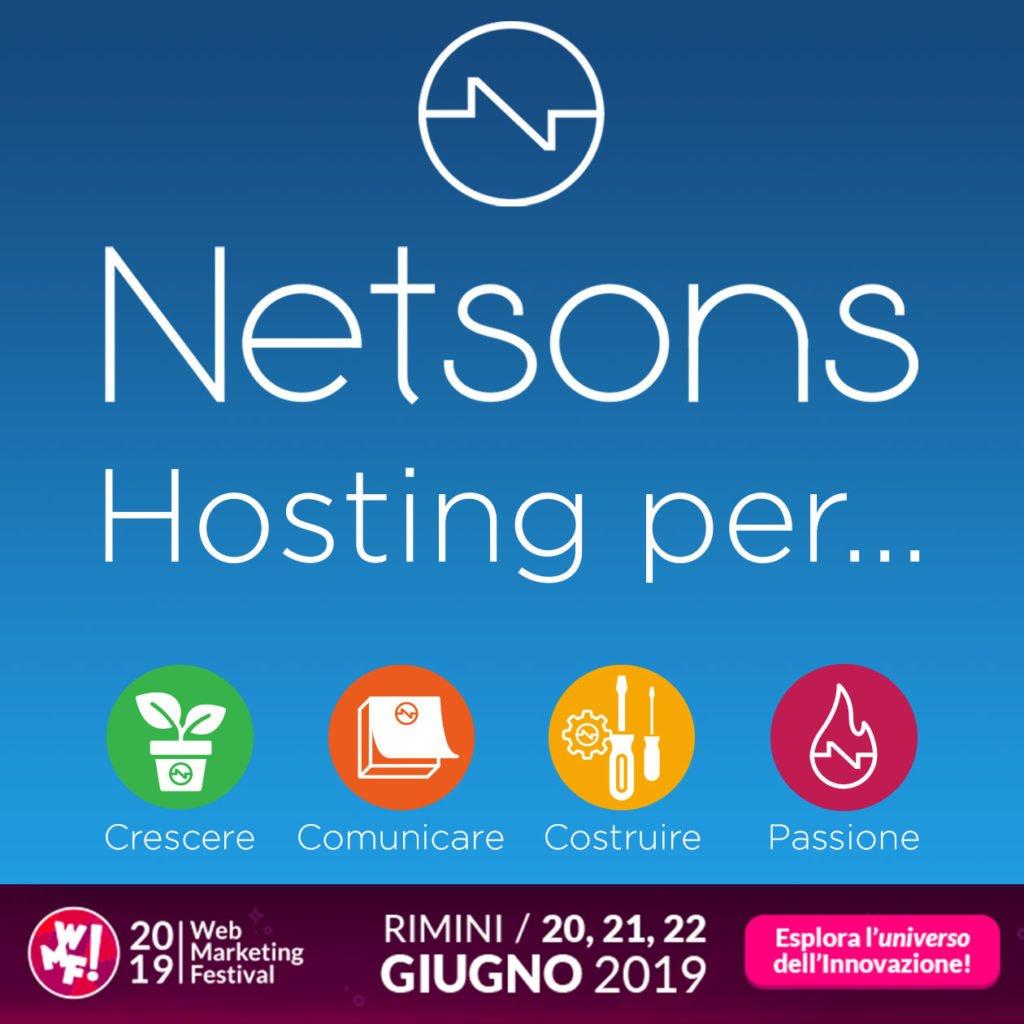 netsons hosting per wmf 19