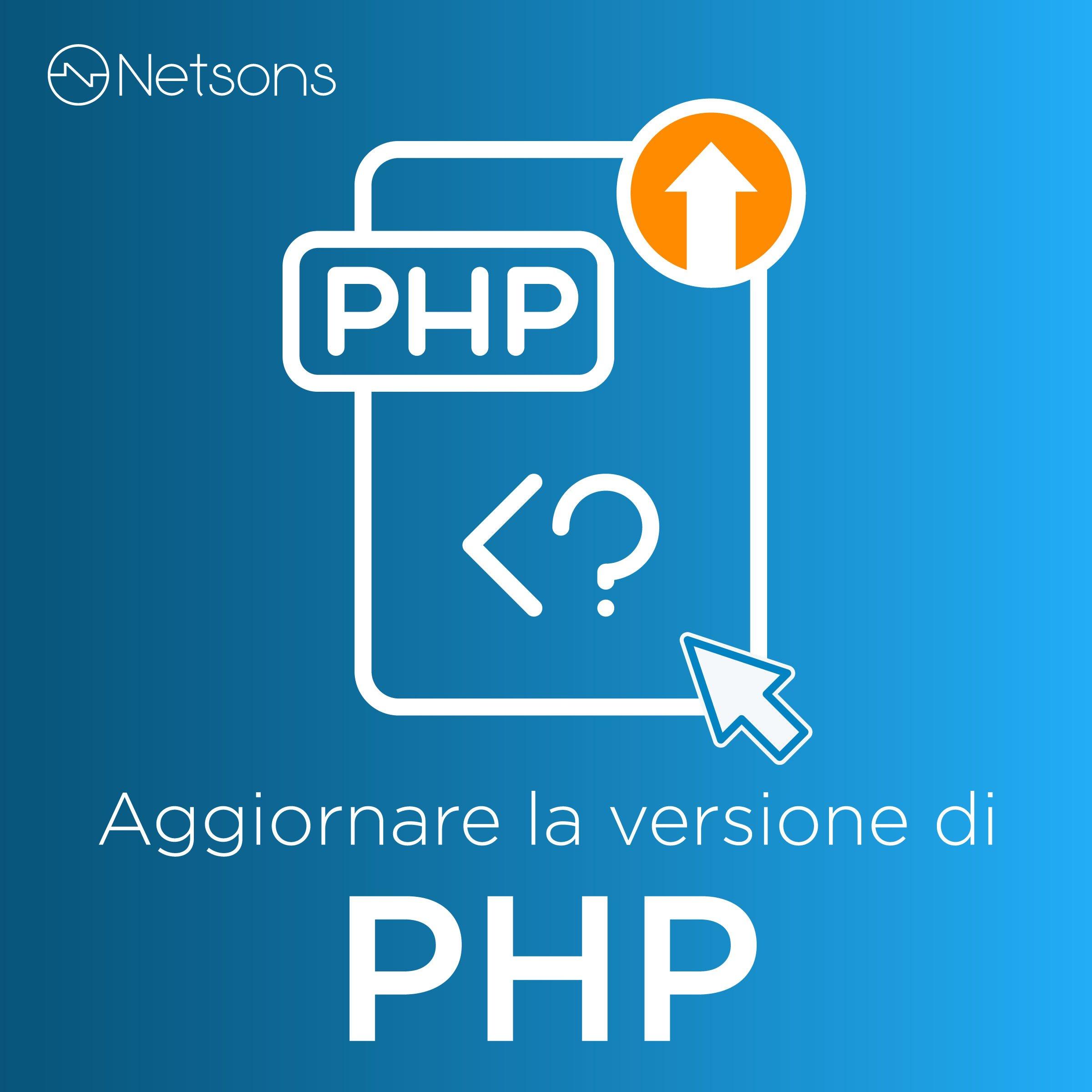 aggiornamento php