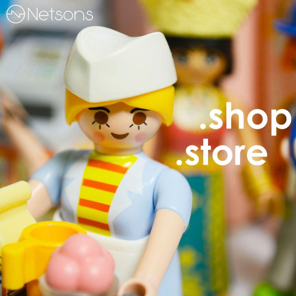 domini web .shop .store