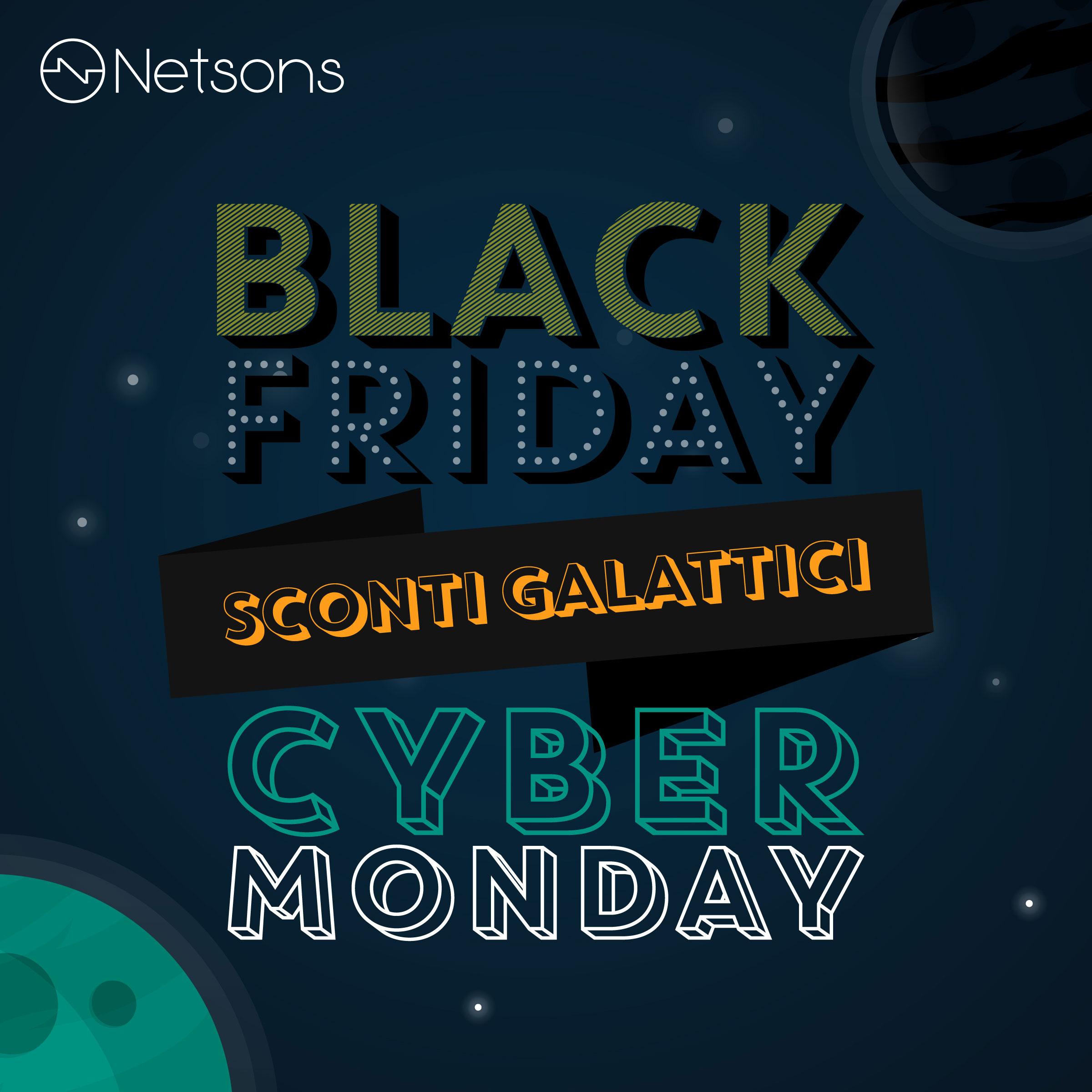 netsons black friday 2019 sconti