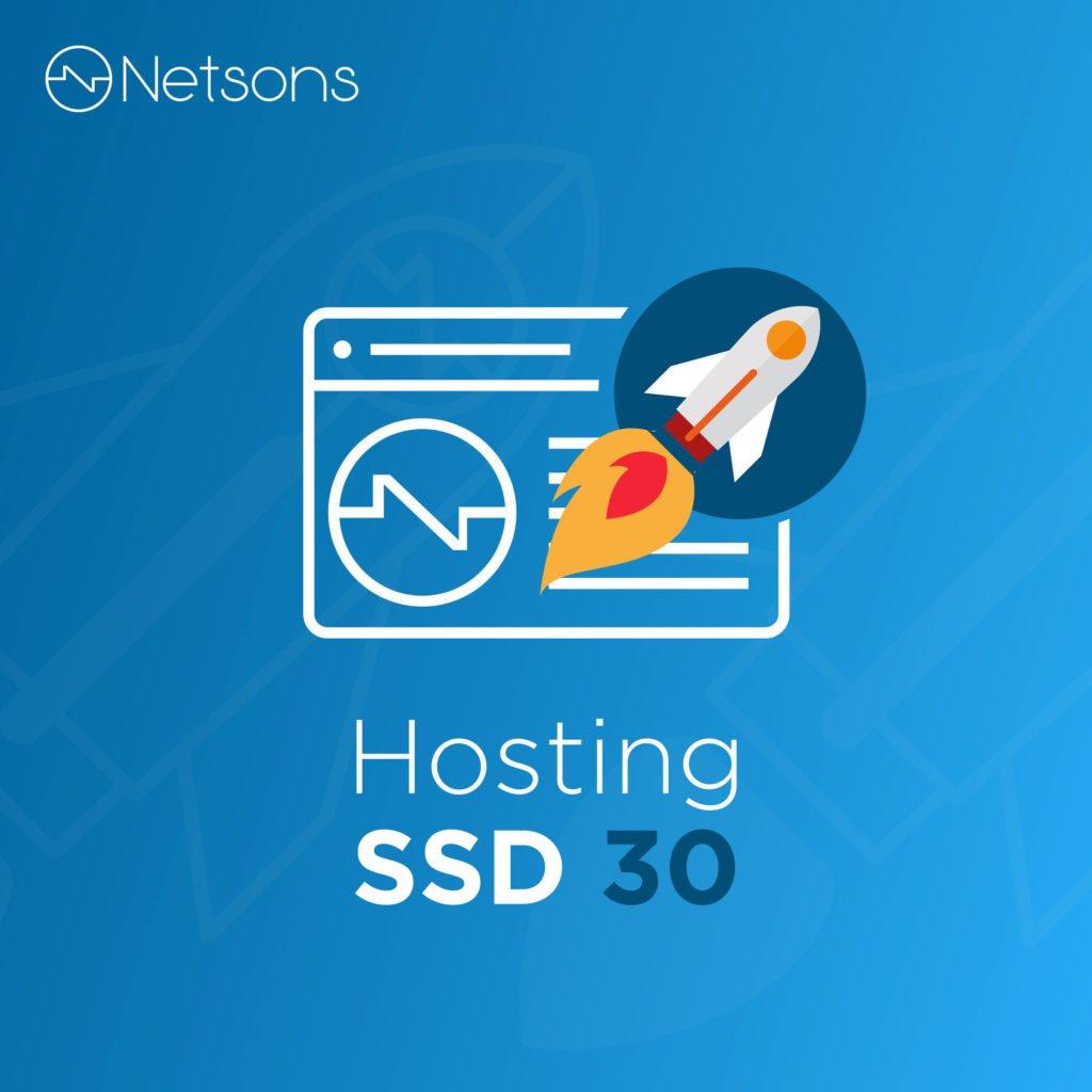 netsons hosting ssd 30