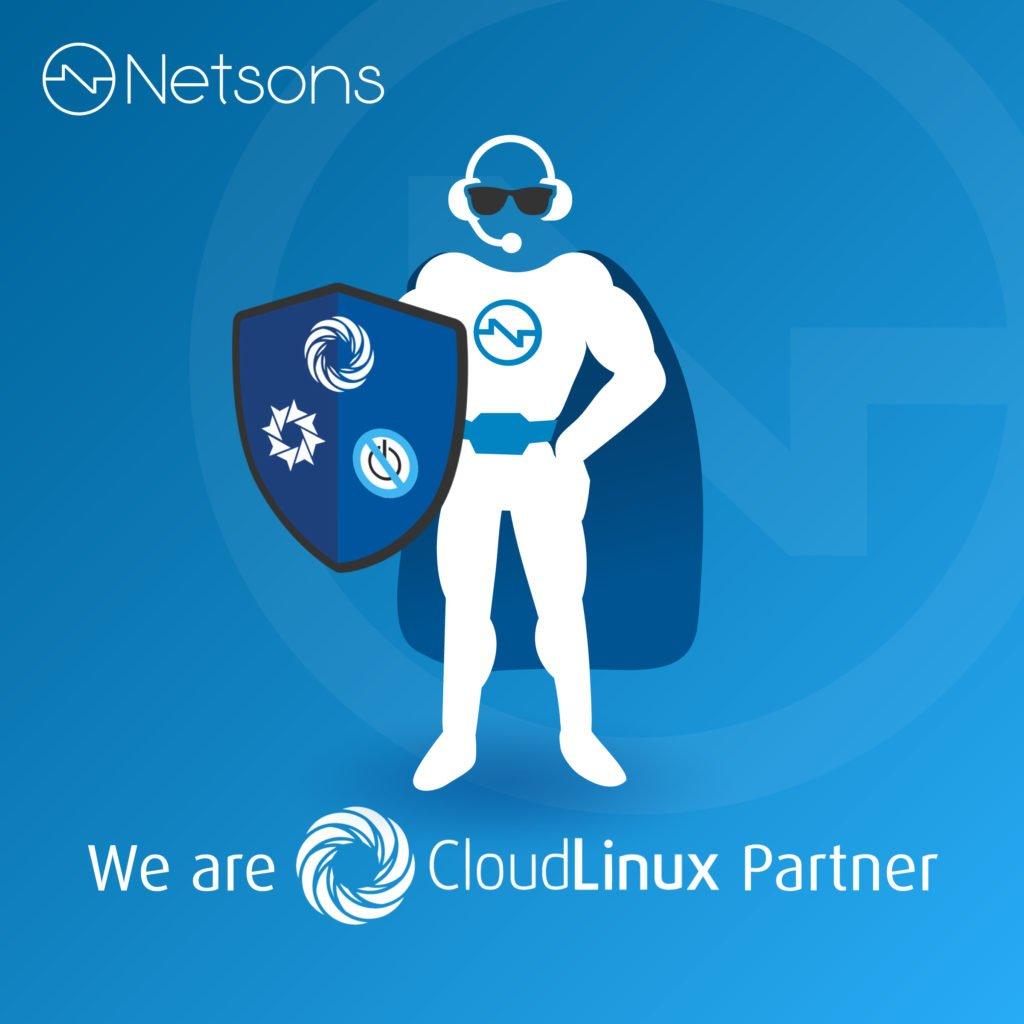 netsons partner cloudlinux