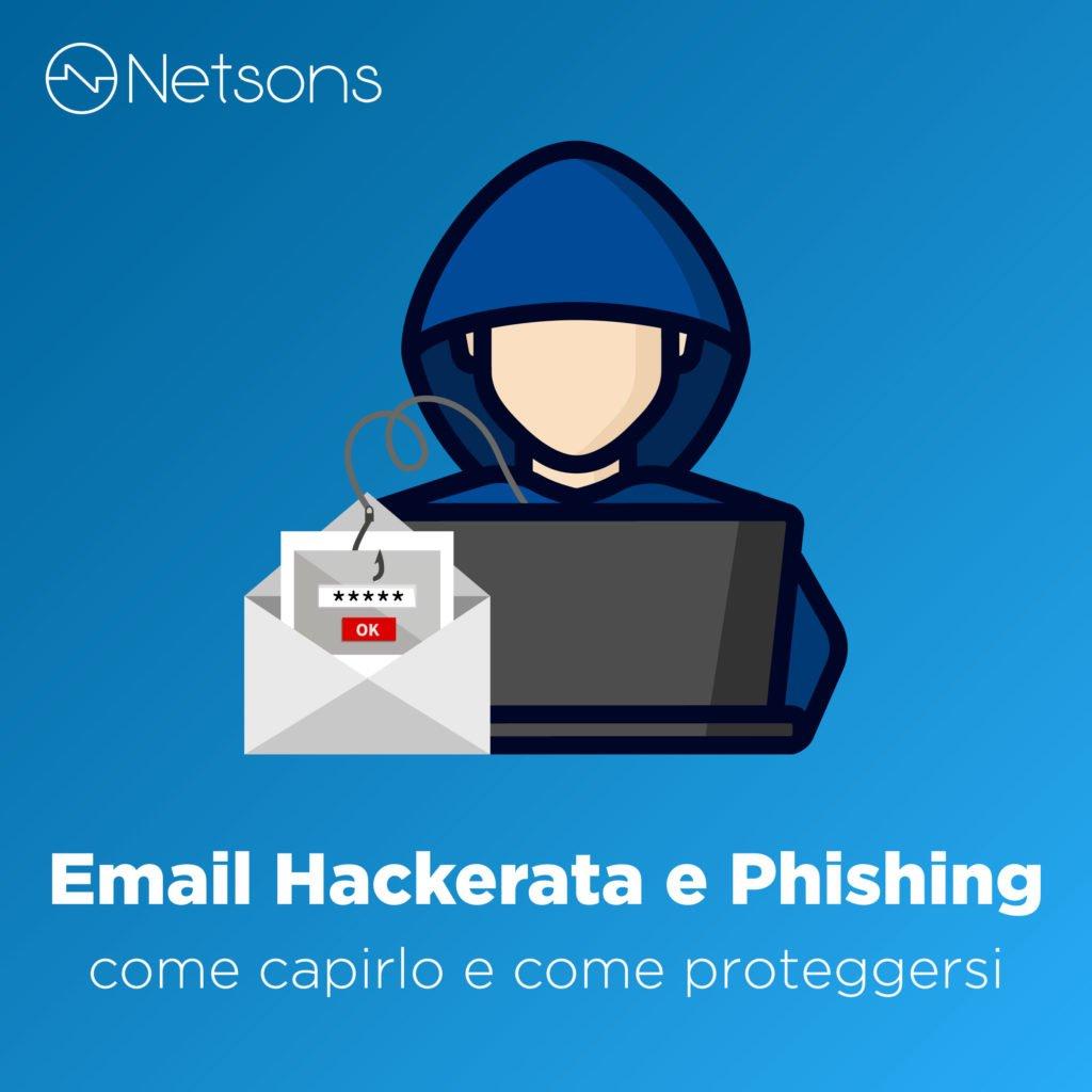 email hackerata cosa fare