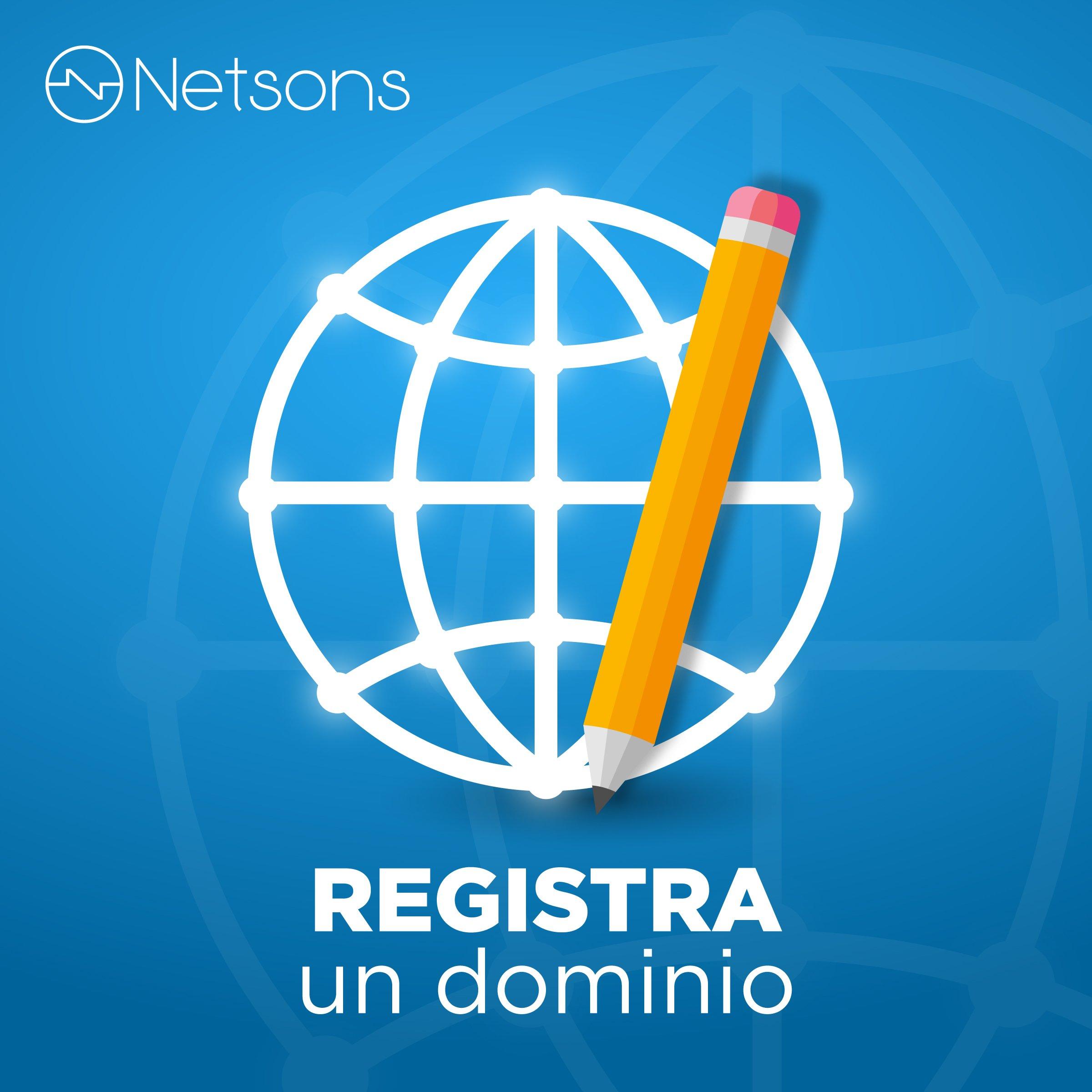 registra un dominio