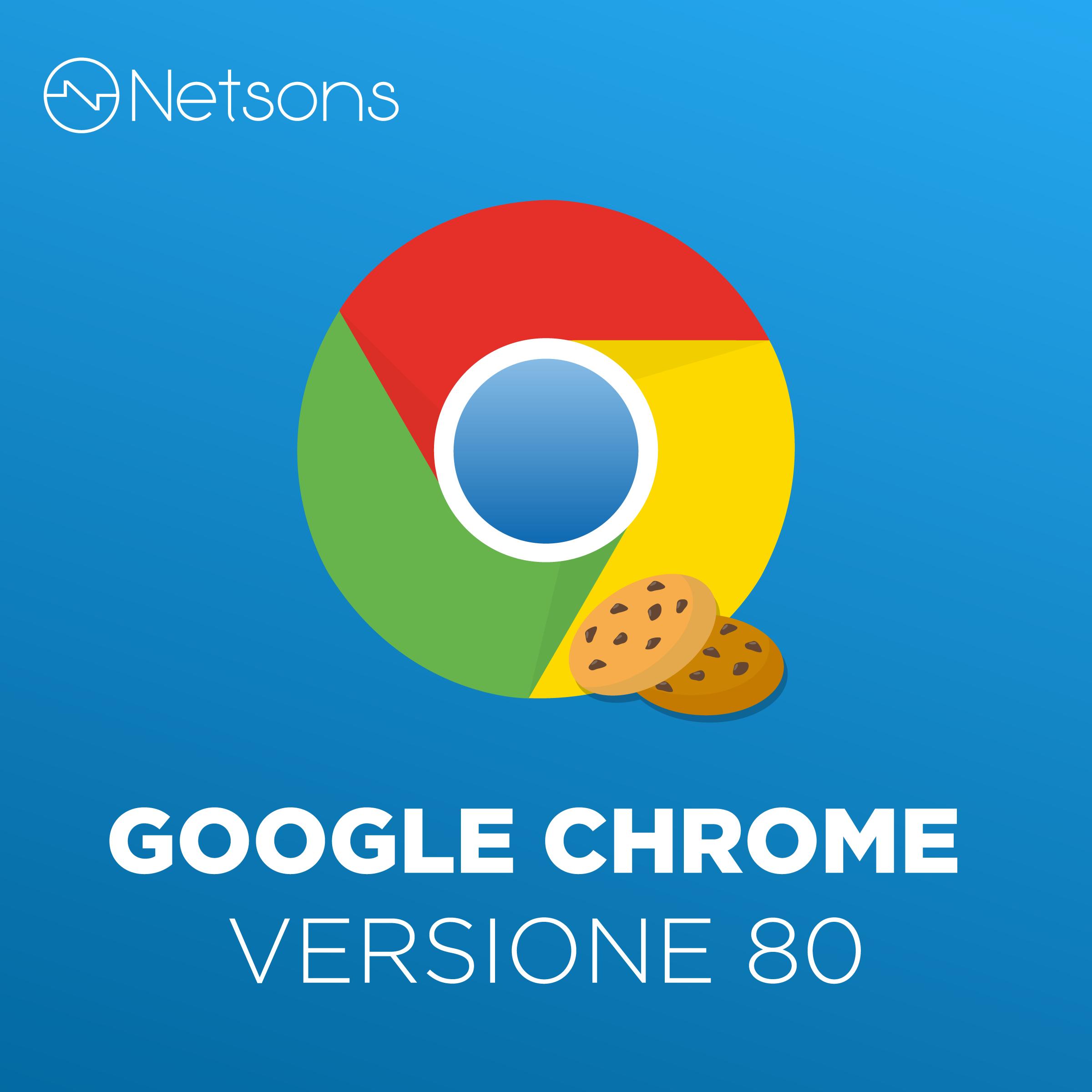 google chrome versione 80