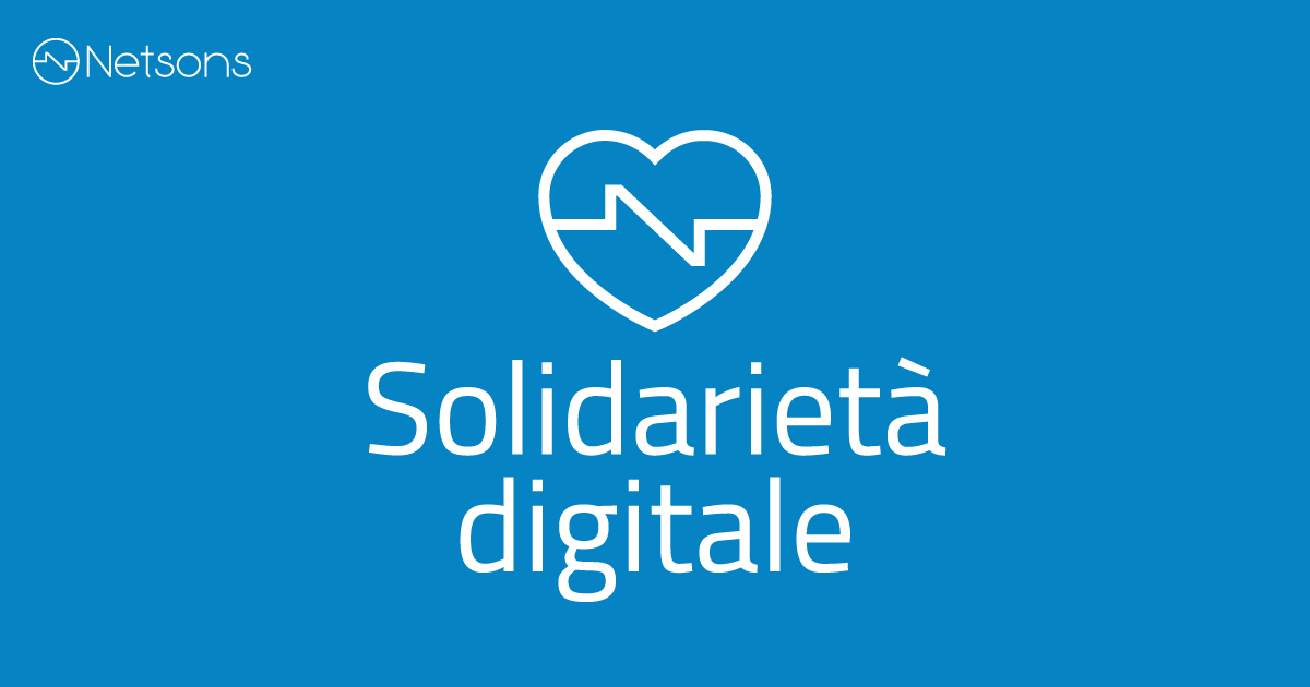 netsons solidarietà digitale