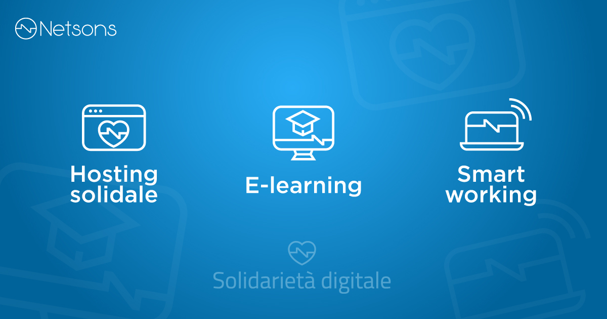 solidarietà digitale netsons servizi