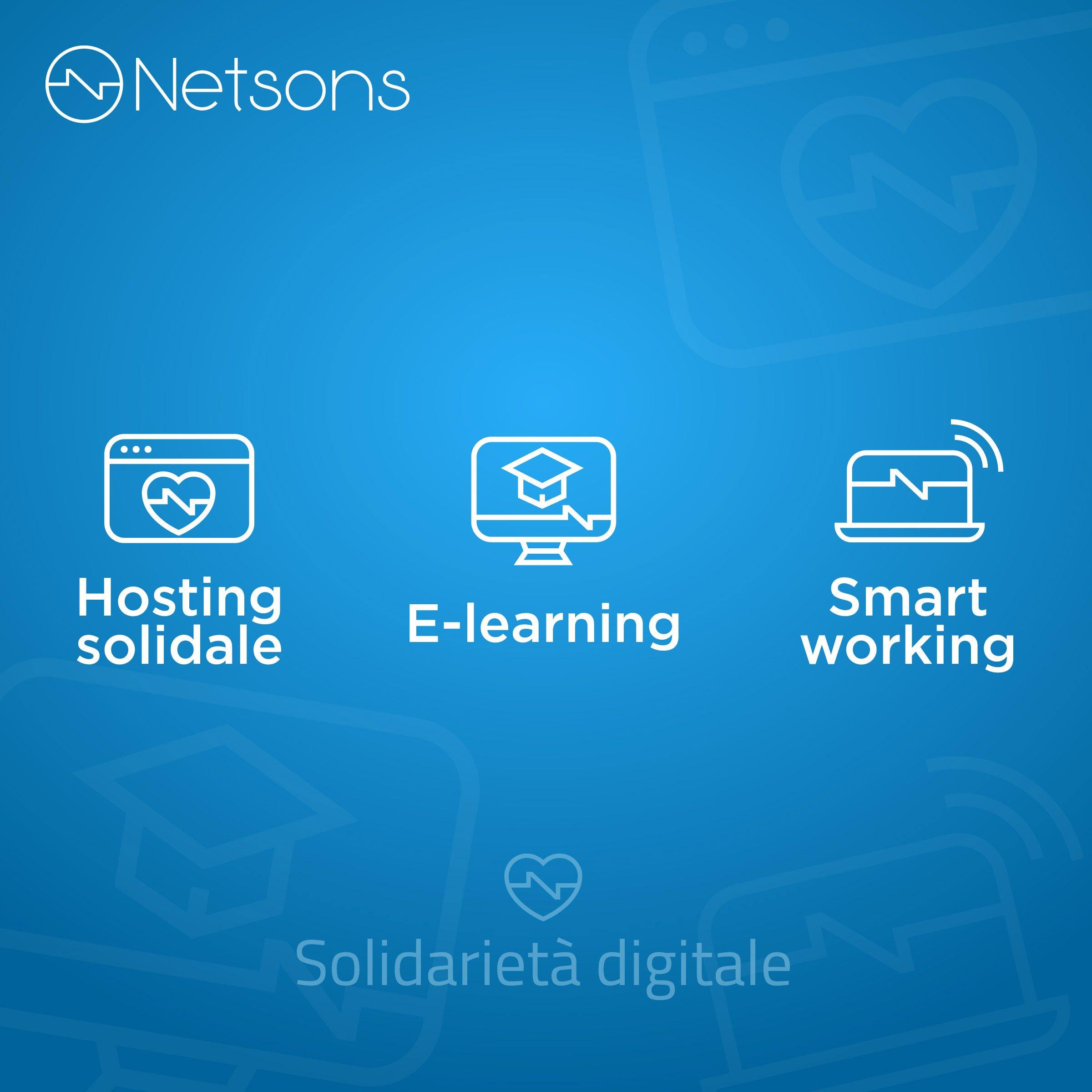 solidarietà digitale netsons soluzioni