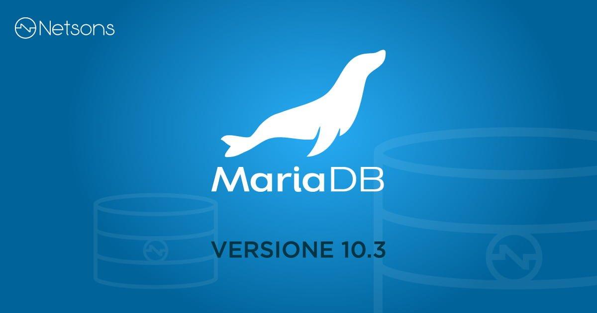 mariadb 10.3