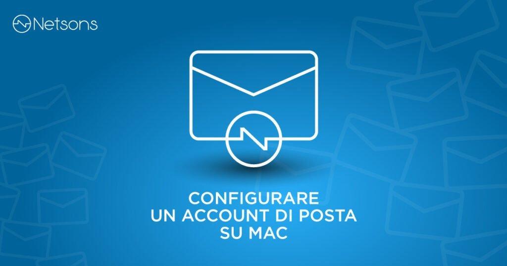 aggiungere accont email su mac