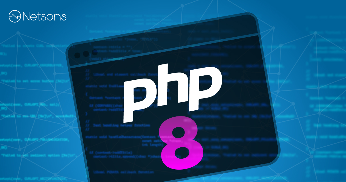 Nuovo aggiornamento PHP 8.0 sui server Netsons 2