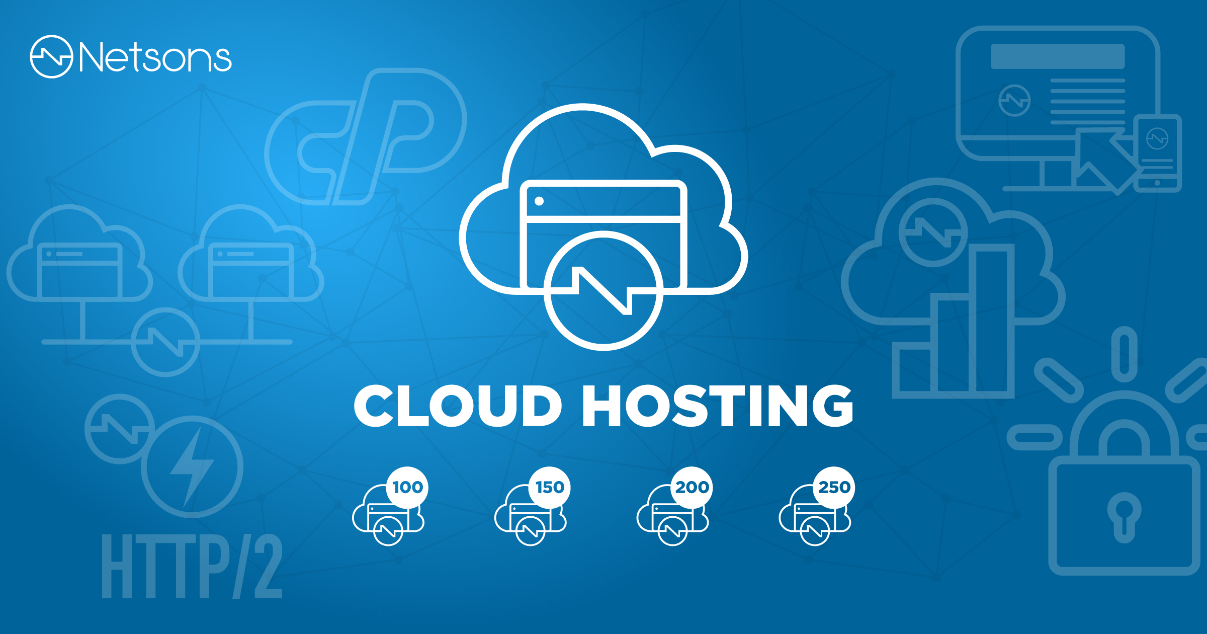 Arrivano i nuovi piani di Cloud Hosting Netsons