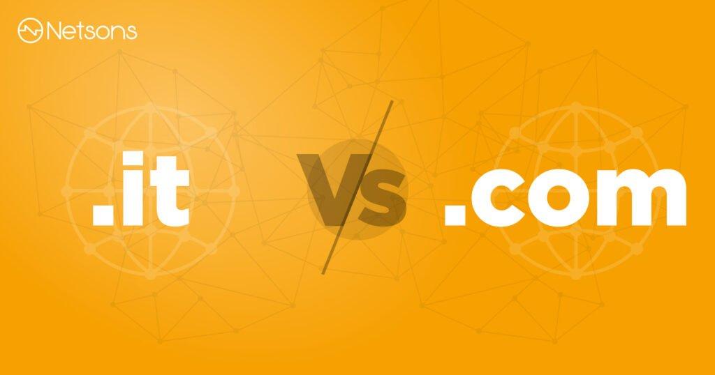 Scelta del dominio: meglio .it o .com?