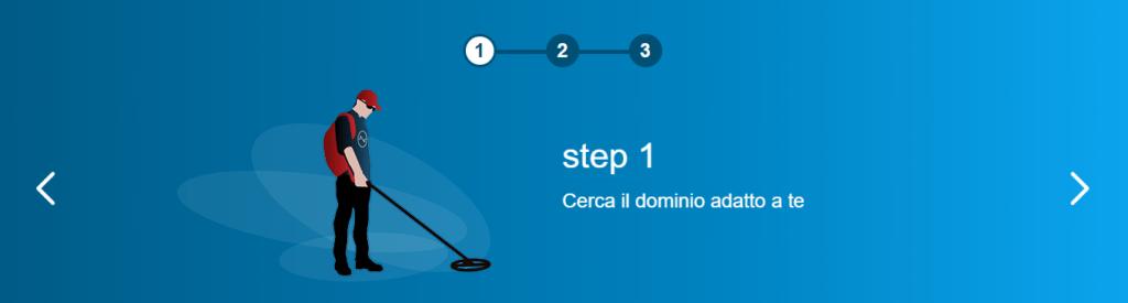 Come registrare un dominio in 3 passi 2