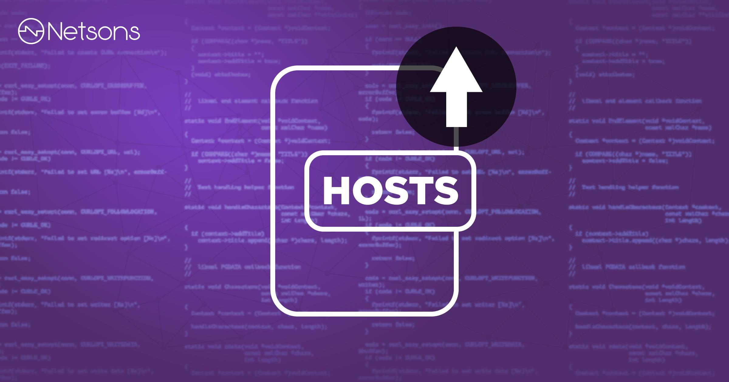 Come modificare il file hosts per bypassare la propagazione DNS 1